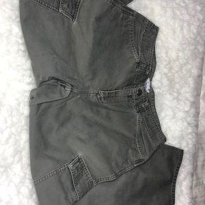 Calvin Klein Olive Cargo Pants - 6